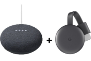 Google Nest Mini 2 + Chromecast 3