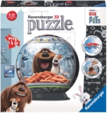 Puzzle 3D Ball Secret Life Of Pets