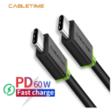Cable macho type-C solo 1,3€