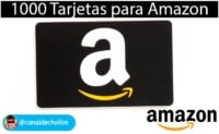 1000 Tarjetas regalo GRATIS en Amazon