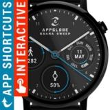 Watch Face Ksana Sweep para Android Wear OS GRATIS