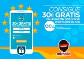 OCU regala 30€ en Amazon por registrarte y otras promos