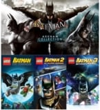 Batman: Arkham Collection y Lego Batman Trilogy para Steam GRATIS