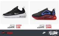 Zapatillas Air Max Axis y 720 en oferta en Nike