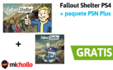 Fallout Shelter PS4 + paquete con PlayStation Plus GRATIS