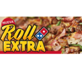 Pizza mediana roll extra en Domino's GRATIS