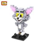 Tom and Jerry Cat Building Block Building Educational DIY Toy