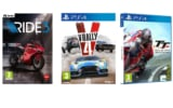 Chollitos en videojuegos [Ride 3, V-Rally 4 y TT Isle of Man]