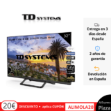Televisor SmartTV TD Systems solo 109€