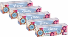 75 paquetes de pañuelos Kleenex Mini Collection solo 5€