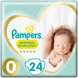 24 Pañales Talla 0 Pampers