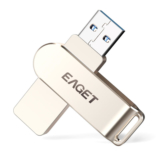 Pendrive metálico Eaget F60 USB 3.0 128GB solo 12,6€