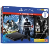 Sony PlayStation 4 Slim 1TB + Uncharted 4 + Horizon Zero Dawn + The Last of Us solo 219€