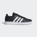 Adidas Zapatilla Grand Court Base  en color negro