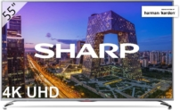 TV Sharp 55″ 4K Ultra HD con Sonido Harman Kardon