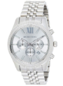 Reloj Michael Kors Lexington Plateado solo 117.4€