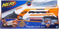 Lanzador Nerf Elite Rough Cut 2X4 de Hasbro solo 12,9€