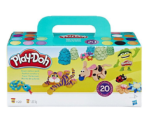 Pack de 20 botes plastilina Play-Doh solo 12,2€