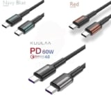 Cable USB tipo C QC4.0 60W desde 0,9€