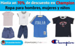 Hasta 70% de dto en Champion